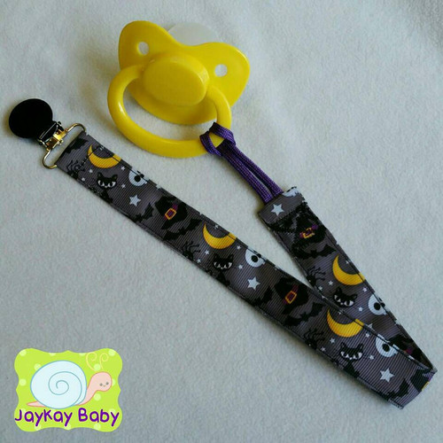 Little Witch's Adult Pacifier Clip