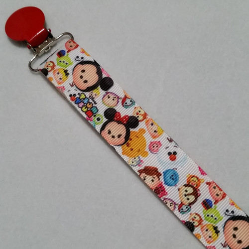 Plush Friends Adult Pacifier Clip
