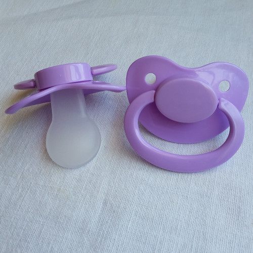 Pastel Purple Solid Adult Pacifier