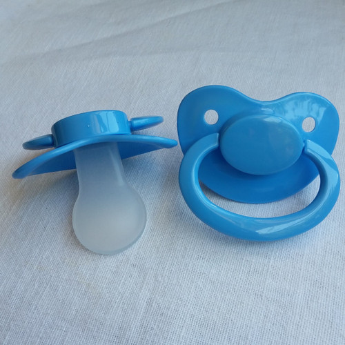 Light Blue Solid Adult Pacifier