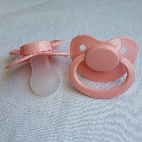 Light Pink Solid Adult Pacifier
