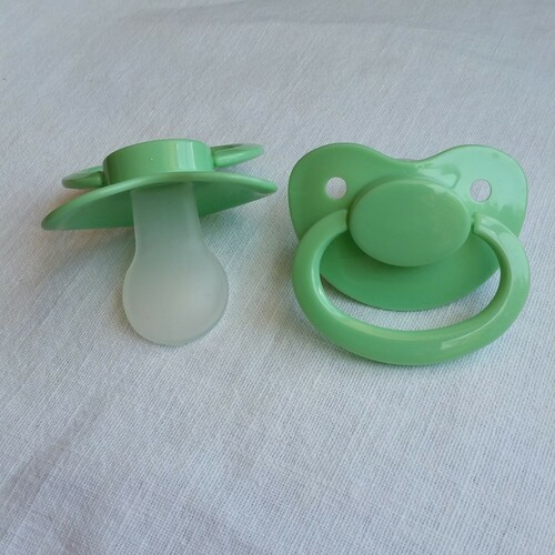 Mint Solid Adult Pacifier