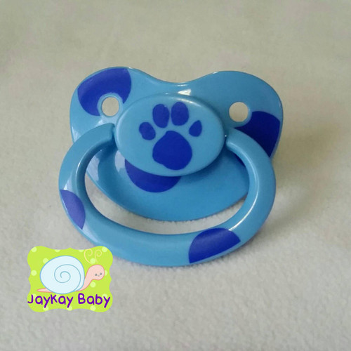 Blue's Clues Paw Print Themed Adult Pacifier