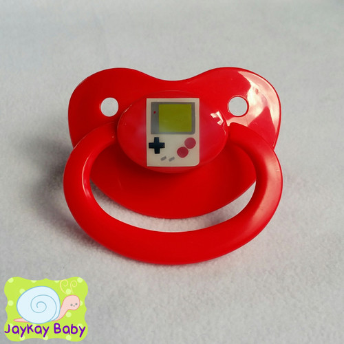 Gameboy Themed Adult Pacifier