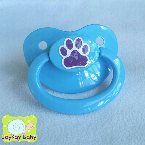 Paw Print Adult Pacifier