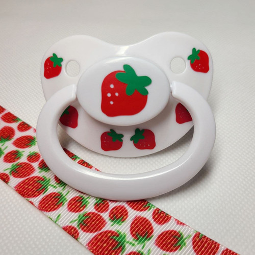 Strawberry Adult Pacifier
