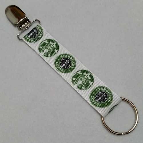 Starbucks Convention Name Badge Clip