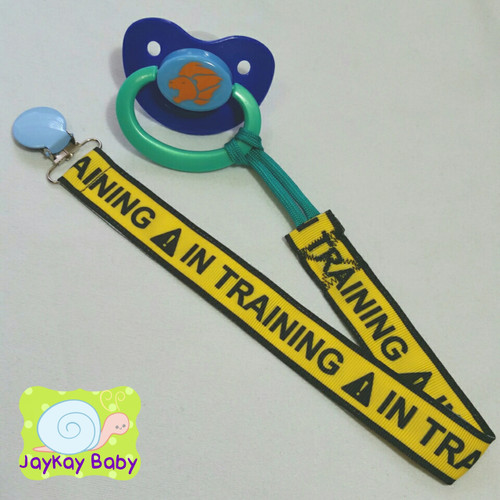 IN TRAINING Adult Pacifier Clip