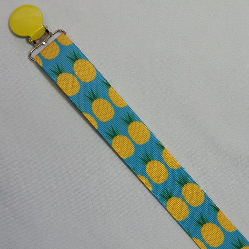 Pineapple Adult Pacifier Clip