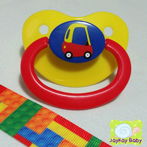 Play Car Adult Pacifier
