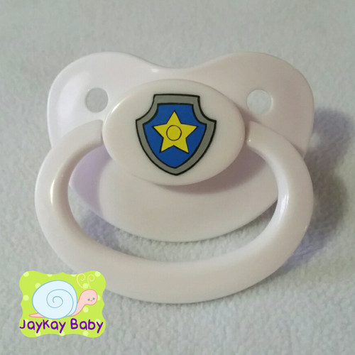 Chase Badge Adult Pacifier