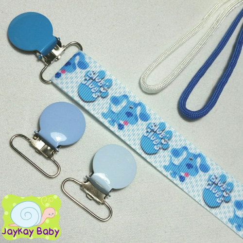 Blue's Clues Adult Pacifier Clip