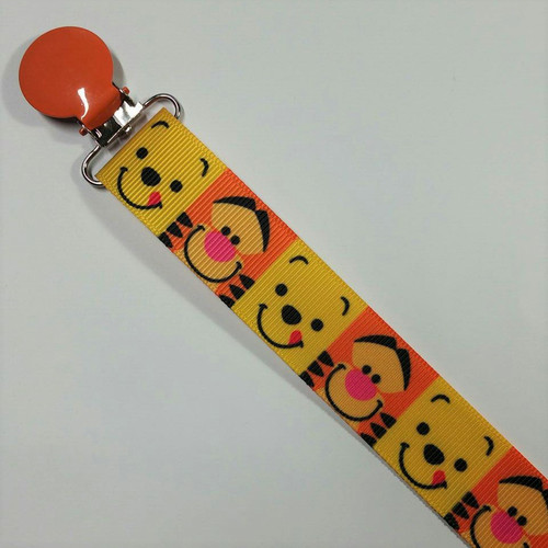 Pooh & Tigger Adult Pacifier Clip