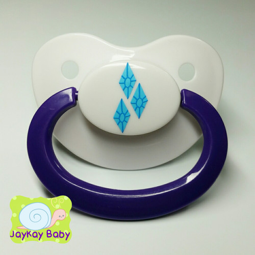 Rarity Themed Adult Pacifier