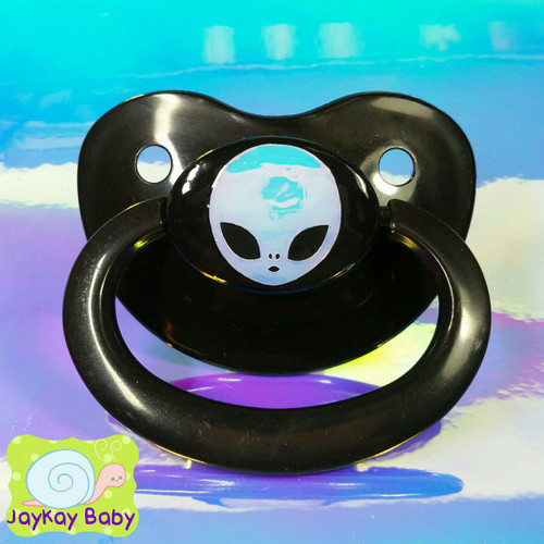 Alien Opal Holographic Adult Pacifier