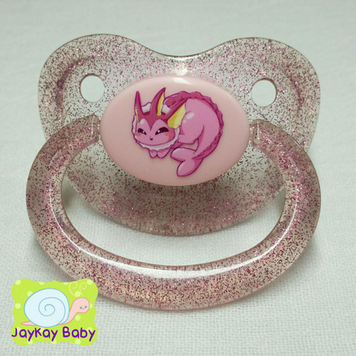 Shiny Vaporeon Poof Printed Vinyl Adult Pacifier