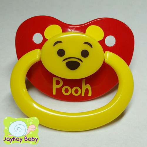 Pooh Themed Adult Pacifier