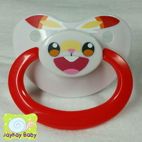 Scorbunny Themed Adult Pacifier