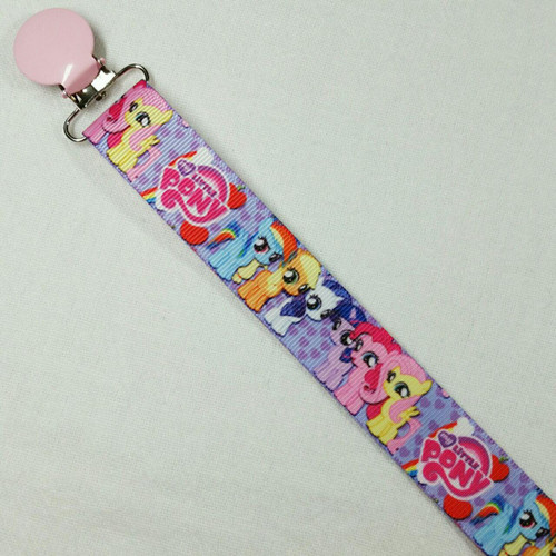Pony Toddlers Adult Pacifier Clip