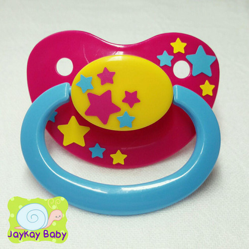 Pans Flag Starlight Adult Pacifier