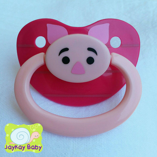 Piglet Themed Adult Pacifier