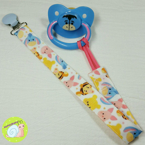 Pooh And Friends Adult Pacifier Clip