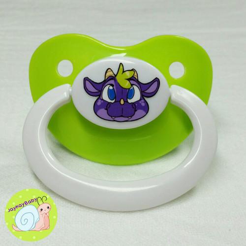 Dragon Printed Vinyl Adult Pacifier