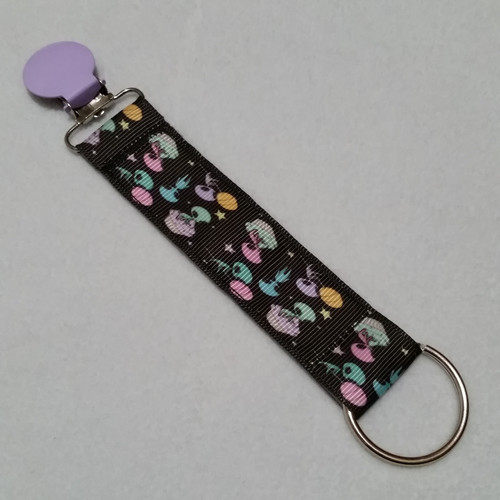 Pastel Aliens, Candy and Cupcakes Convention Name Badge Clip