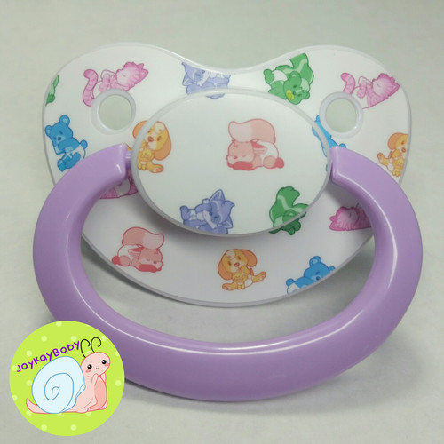 Full Lils Printed Vinyl Adult Pacifier