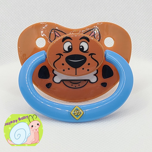 Scooby Themed Printed Vinyl Adult Pacifier