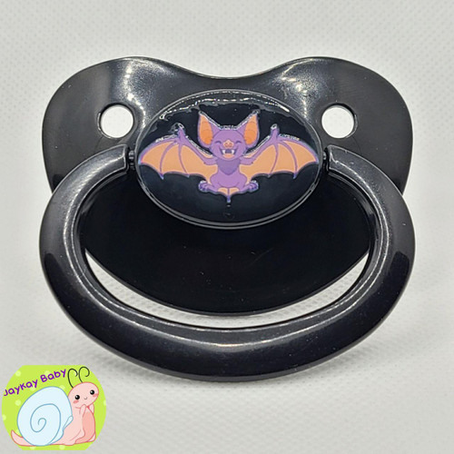 Lils Bat Printed Vinyl Adult Pacifier