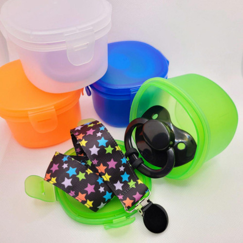 Adult Pacifier Storage Container