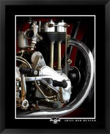 Ariel Red Hunter fine art motorcycle print EFX Gallery by photographer Daniel Peirce