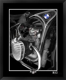 BMW R12 Motorcycle Fine Art giclee by EFX Gallery photographer: Daniel Peirce
