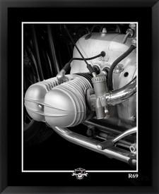 BMW R69 motorcycle fine art print by EFX Gallery photographer Daniel Peirce