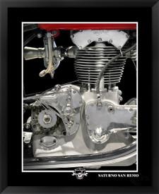 Gilera Saturno San Remo fine art motorcycle print by EFX Gallery photographer Daniel Peirce