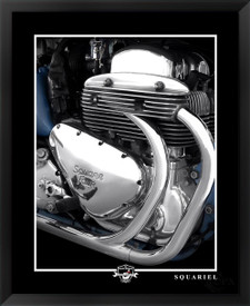 Arial Square Four Squariel motorcycle engine photographed by Daniel Peirce
