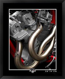 harley-davidson XR750 motorcycle fine art print by EFX Gallery and photographer Daniel Peirce