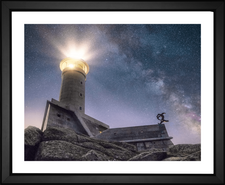 EFX Gallery Faro de Punta Nariga Lighthouse located in Northern Spain by Fabio Antenore