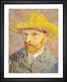 Self Portrait with a Straw Hat