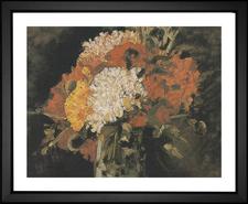Vase of Carnations