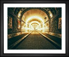 elbe tunnel hamburg germany efx gallery photographer Peter Herrmann