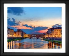 Ponte Vecchio River View
