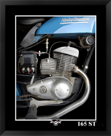 Harley-Davidson 165ST EFX Gallery photographer Daniel Peirce framed fine art motorcycle