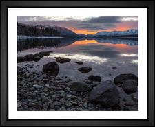 Sunset at Glacier National Park