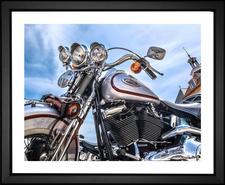 Cool Chrome Harley Davidson