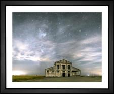 Milky Way Over Abandoned Warehouse