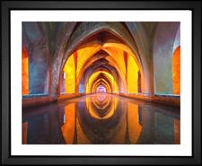Church Water Reflection