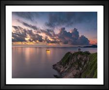 Cliff Ocean Sunrise