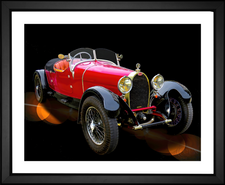 1920 Bugatti Red Roadster